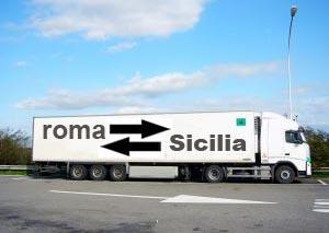 Traslochi da Roma per la Sicilia e Viceversa